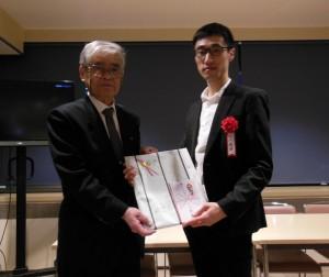 準グランプリを受賞した小川泰輝さん
