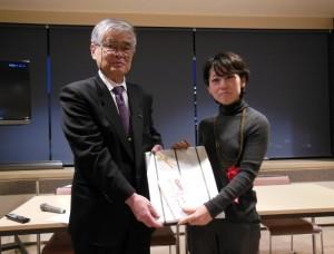 準グランプリを受賞した岩塚一恵さん