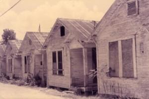 荒廃したショットガン・ハウス