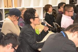 会場のオーディエンスやプレゼンターが活発に発言。プロジェクトの可能性が膨らむ。